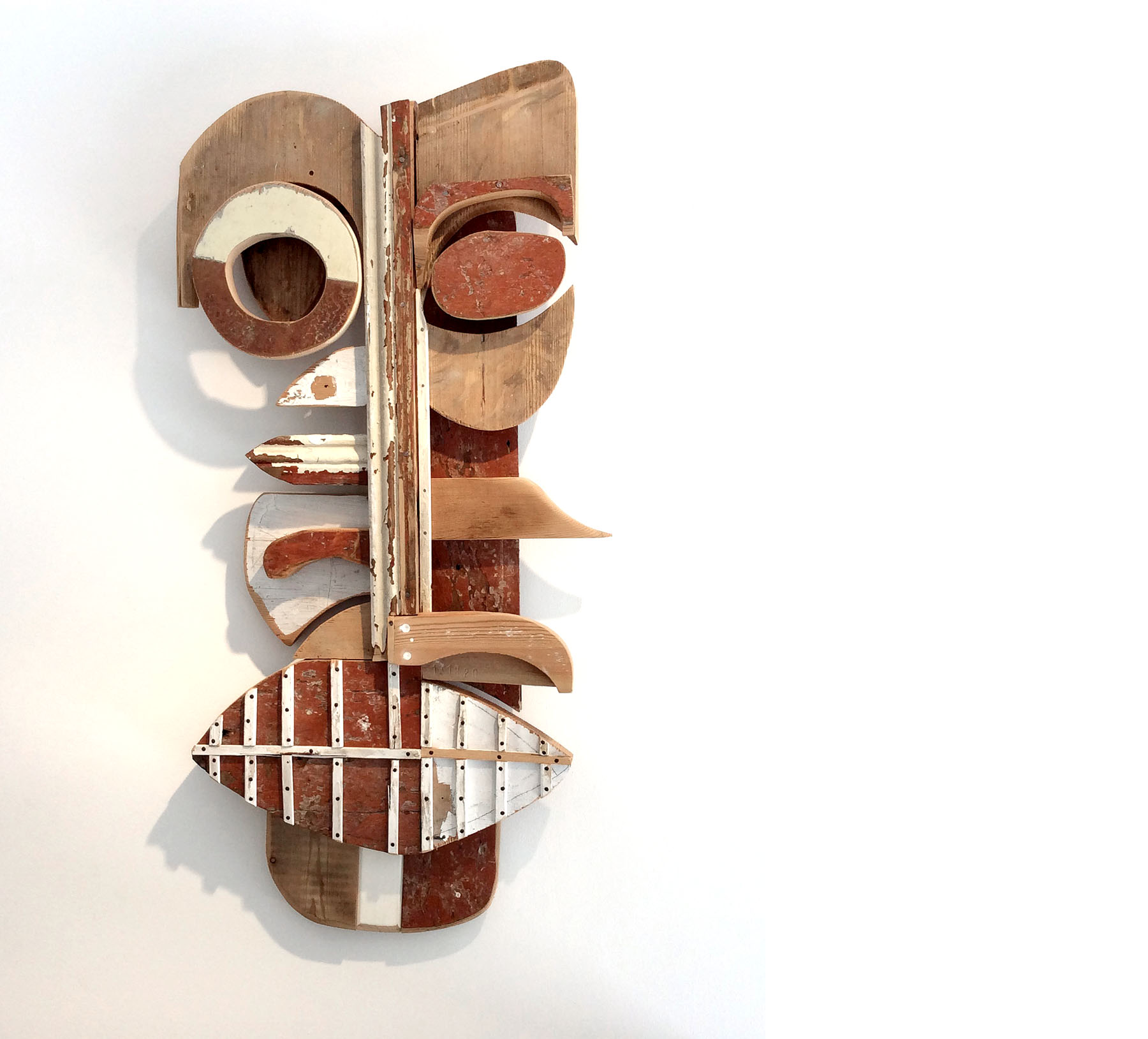 FACE TO FACE, Holz, Lack, 102 x 47 x 11 cm